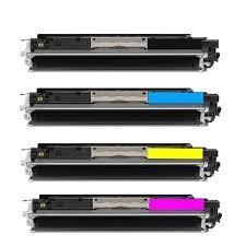 ReChargX HP 126A Black, Cyan, Magenta & Yellow Toner Cartridges