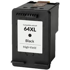 ReChargX® HP 64XL (N9J92AN) High Capacity Black Inkjet Cartridge