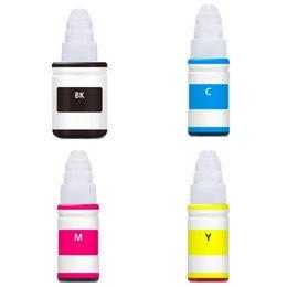 ReChargX® Epson 644 (T664120, T664220, T664320 & T664420) Black, Cyan, Magenta & Yellow High Capacity Ink Refills