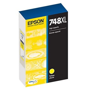 Genuine Epson 748XL (T748XL420) High Capacity Yellow Ink Cartridge
