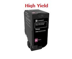 Genuine Lexmark 74C1HM0 High Yield Magenta Toner Cartridge