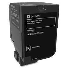 Genuine Lexmark 74C1SK0 Standard Yield Black Toner Cartridge