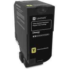 Genuine Lexmark 74C1SY0 Standard Yield Yellow Toner Cartridge