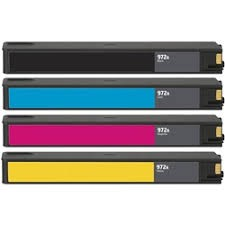 ReChargX® HP F6T80AN, L0R86AN, L0R89AN & L0R92AN (972A) High Yield Ink Cartridges