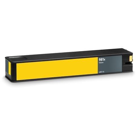 ReChargX® HP 981X (L0R11A) High Yield Yellow Ink Cartridge