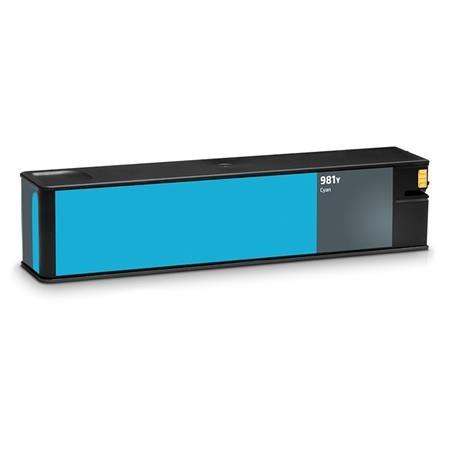 ReChargX® HP 981Y (L0R13A) Extra High Yield Cyan Ink Cartridge