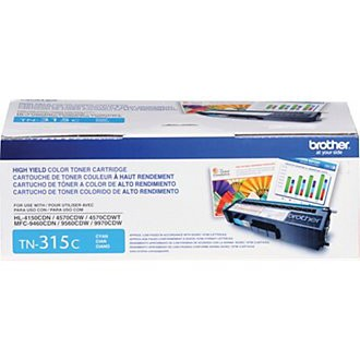 Genuine High-Yield Cyan Toner Cartridge