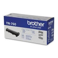 Genuine Brother TN760 High Yield Toner Cartridge
