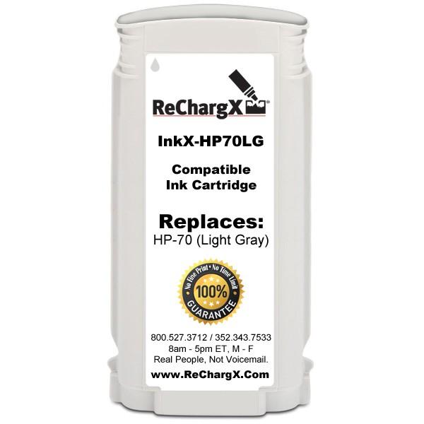 ReChargX Light Cyan Ink Cartridge