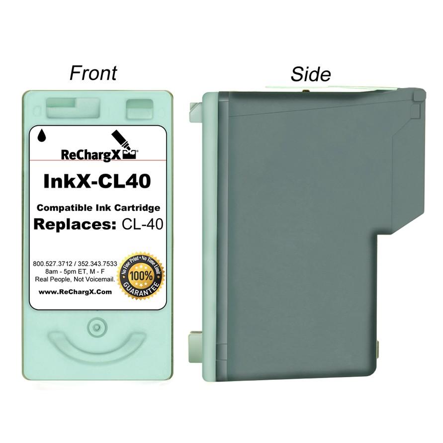ReChargX Standard-Yield Black Ink Cartridge