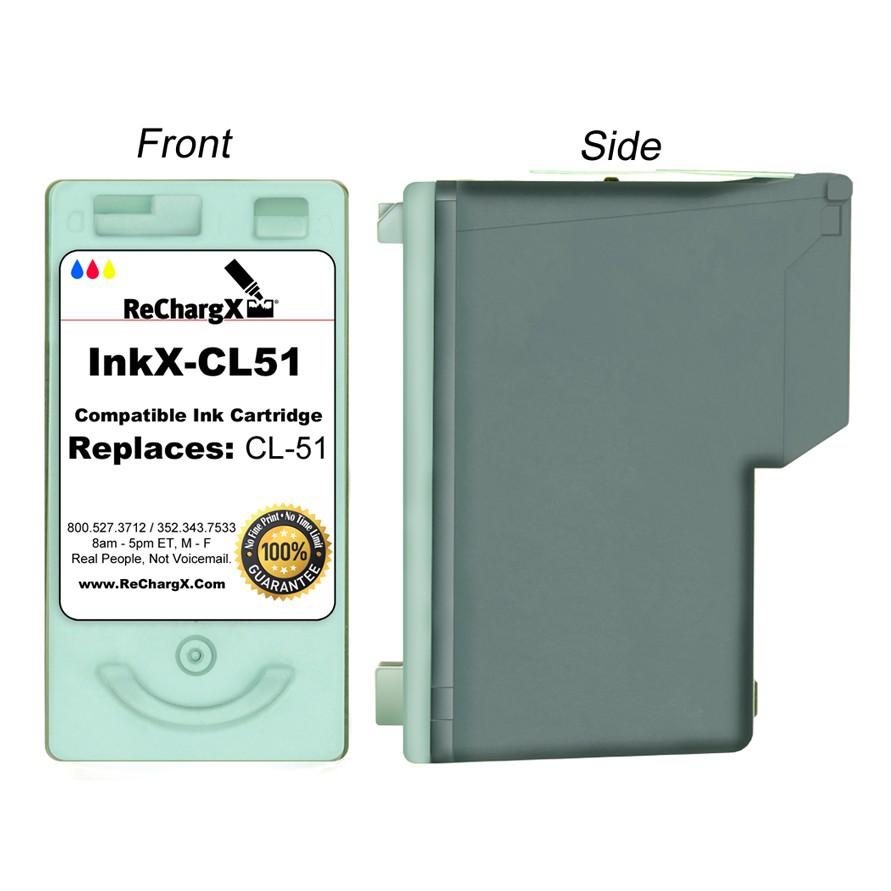 ReChargX High-Yield Color Ink Cartridge