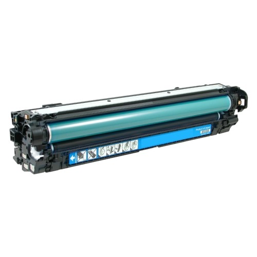 ReChargX® HP 651A (CE341A) Cyan Toner Cartridge