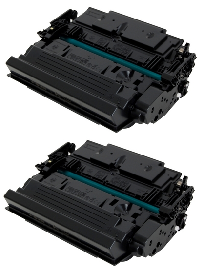 ReChargX HP CF287X High Yield Toner Cartridges (2/Pack)