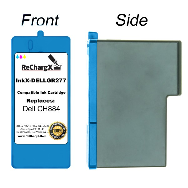 ReChargX Tricolor Ink Cartridge