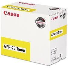 Genuine Canon 0455B003 (GPR-23) Yellow Toner Cartridge
