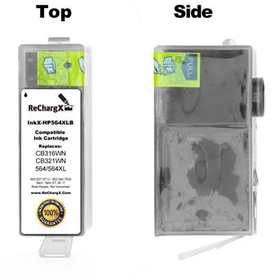 ReChargX High-Yield Black Ink Cartridge