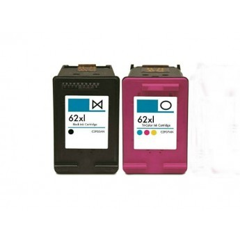 ReChargX® HP 62XL (C2P05AN & C2P07AN) High Yield Black & Tri-Color Ink Cartridges