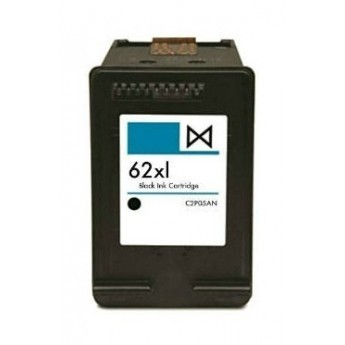 ReChargX® HP 62XL (C2P05AN) High Yield Black Ink Cartridge