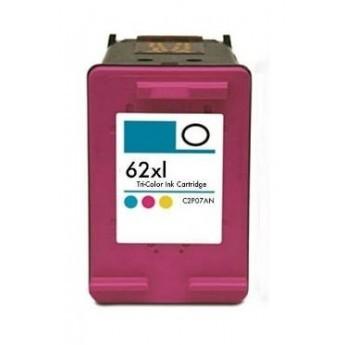 ReChargX® HP 62XL (C2P07AN) High Yield Tri-Color Ink Cartridge
