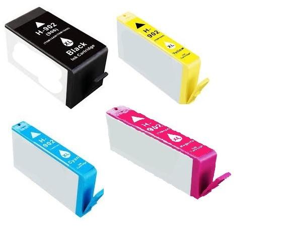 ReChargX® HP 902XL (T6M14AN, T6M02AN, T6M06AN, T6M10AN) High Yield Ink Cartridges