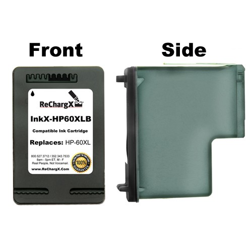 ReChargX High-Yield Black Ink Cartridge