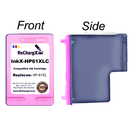 ReChargX Tricolor Ink Cartridge