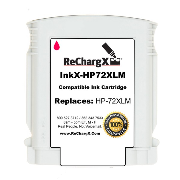 ReChargX® HP C9372A High-Yield Magenta Ink Cartridge
