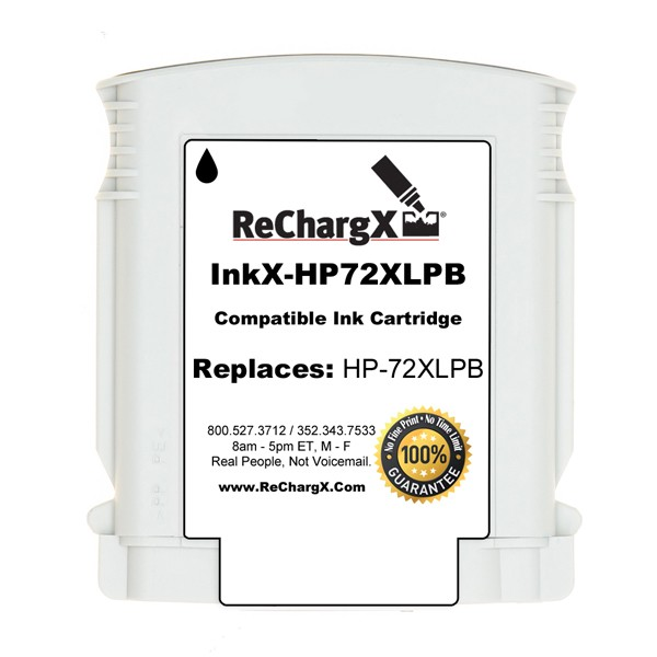 ReChargX® HP C9370A High-Yield Photo Black Ink Cartridge