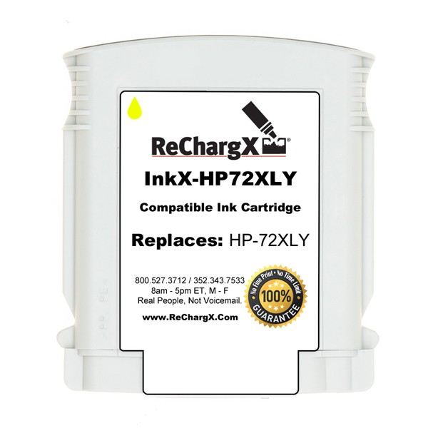 ReChargX® HP C9373A High-Yield Yellow Ink Cartridge