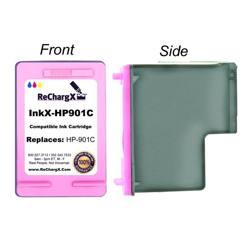 ReChargX Color Standard-Yield Ink Cartridge