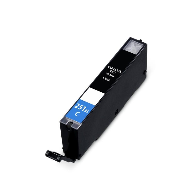 ReChargX® Canon CLI-251XLC High Yield Cyan Ink Cartridge (6449B001)