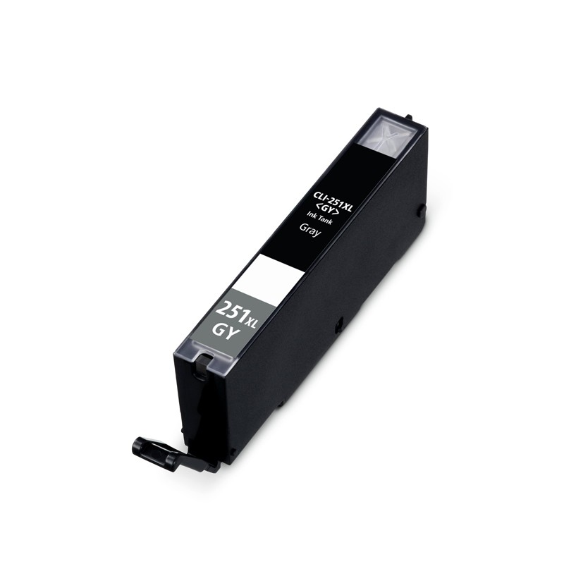 ReChargX® Canon CLI-251XLGY High-Yield Gray Ink Cartridge (6452B001)