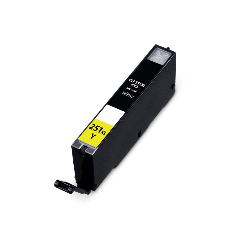 ReChargX® High-Yield Canon CLI-251XLY Yellow Ink Cartridge (6451B001)