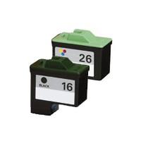 ReChargX Black & Color Ink Cartridge Combo Pack