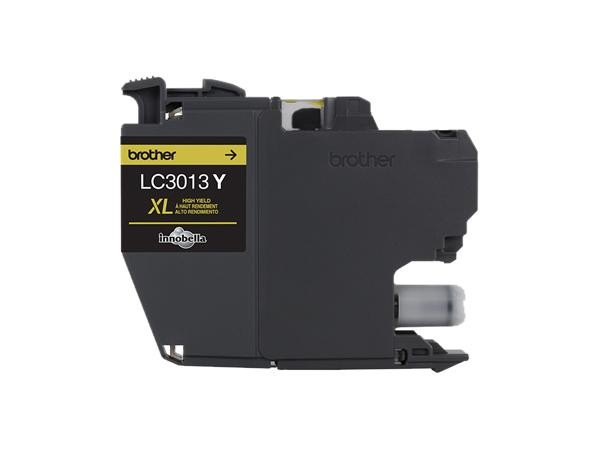 Genuine Brother LC3013Y High Yield Yellow Ink Cartridge