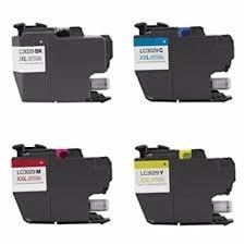 ReChargX® Brother LC3029BK, C, M & Y High Yield Ink Cartridges (4 Pack)