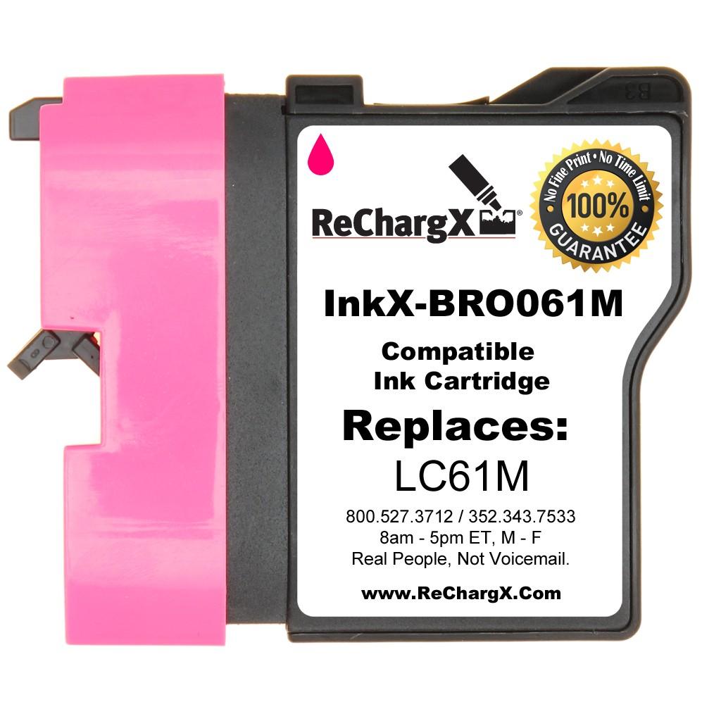 ReChargX Standard-Yield Magenta Ink Cartridge