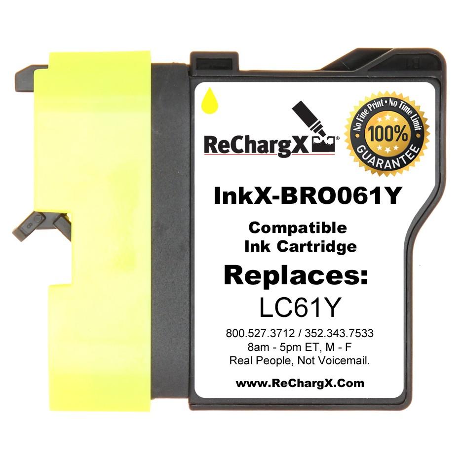 ReChargX Standard-Yield Yellow Ink Cartridge
