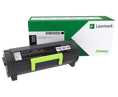 Genuine Lexmark 51B1000 (51B00A0) Toner Cartridge