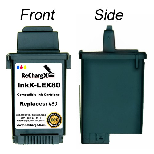 ReChargX Color Ink Cartridge