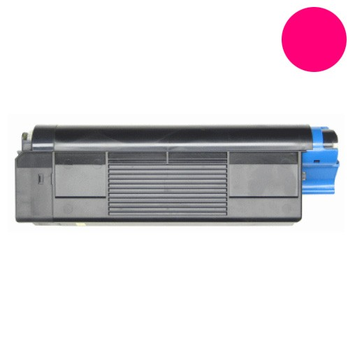 Empty Magenta Toner Cartridge