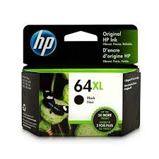 Genuine HP 64XL (N9J92AN) High Capacity Black Inkjet Cartridge