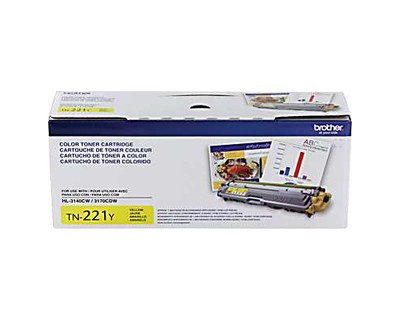 Genuine Standard-Yield Yellow Toner Cartridge