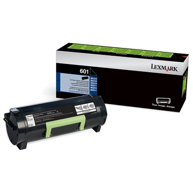 Genuine Lexmark 601H (60F0HA0,60F1H00) High-Yield Toner Cartridge
