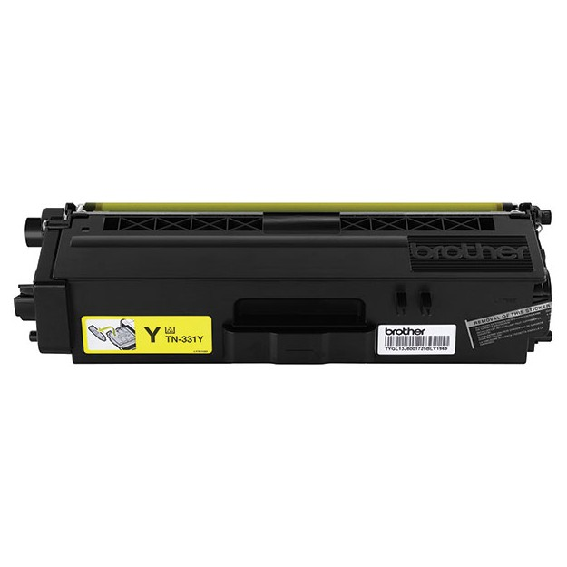 Genuine Standard-Yield Yellow Toner Cartridge