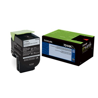 Genuine High-Yield Black Toner Cartridge