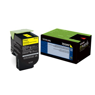 Genuine High-Yield Yellow Toner Cartridge