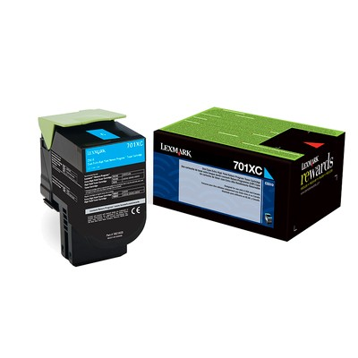 Genuine Extra High-Yield Cyan Toner Cartridge
