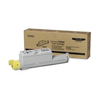 Genuine High-Yield Yellow Toner Cartridge