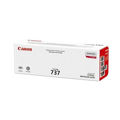 Genuine Canon 9435B001 (Cartridge 137, 337 Japan, 737 Euro) Toner Cartridge